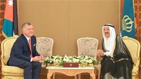 الأمير وملك الأردن بحثا المستجدات