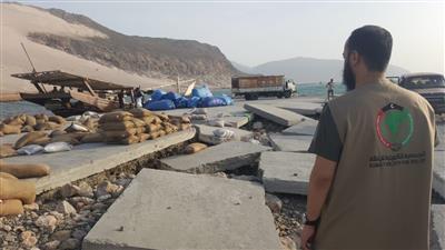 الجمعية الكويتية للإغاثة مستمرة في توزيع المساعدات الإنسانية لمدينة «سقطرى» اليمنية