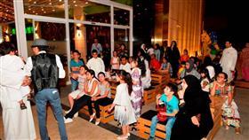 مجمع ذا ليك يحتفل بالقرقيعان ويتسعد للمونديال