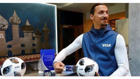 إبراهيموفيتش يتوقع فوز روسيا بمونديال 2018
