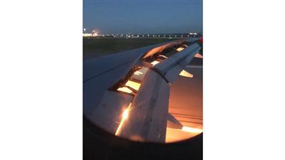 المنتخب السعودي ينجو من كارثة جوية بعد احتراق أحد محركات الطائرة