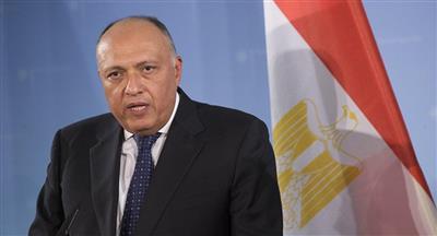 وزير الخارجية المصري: نستضيف 5 ملايين لاجئ من مختلف الجنسيات