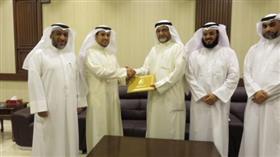 كلية الشريعة توقع مذكرة تفاهم مع جمعية النجاة الخيرية