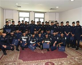 «الداخلية» تكرم عدداً من منتسبي قطاع الأمن العام