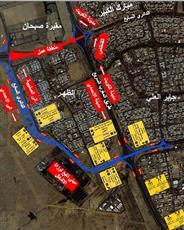 «الداخلية»: تحويل طريق الملك فهد إلى الطريق الفرعي مع تقاطع الدائري السابع مدة 3 أيام لهدم الجسر القديم