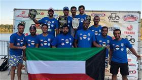«أزرق الدراجات المائية» يواصل تحقيق الانجازات في بطولة اوروبا الدولية
