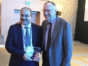 «المعلومات المدنية» تفوز بجائزة الإبداع في تطبيقات نظم المعلومات الجغرافية