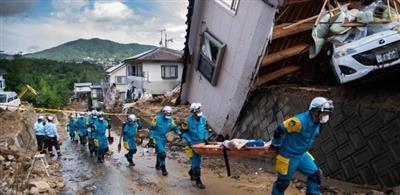 اليابان: ارتفاع حصيلة ضحايا الأمطار لـ 153 قتيلًا