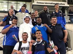 منتخب ألعاب القوى رجال يحتل المركز الثاني في بطولة غرب آسيا