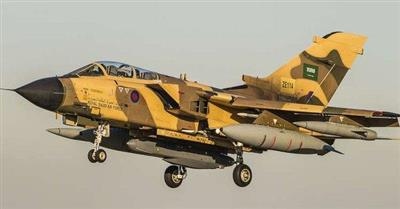التحالف العربي يعلن تحطم طائرة عسكرية سعودية في عسير ونجاة طياريها
