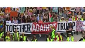 مظاهرة حاشدة في لندن ضدّ زيارة ترامب إلى بريطانيا