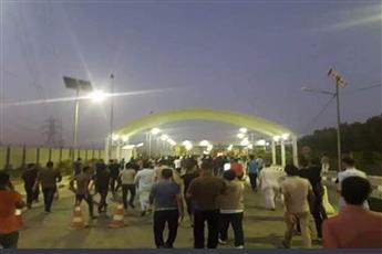 العراق: استئناف الحركة الجوية في مطار النجف.. بعد انسحاب المحتجين
