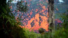 إصابة 22 شخصاً في سقوط حمم بركانية على سفينة بولاية هاواي الأمريكية