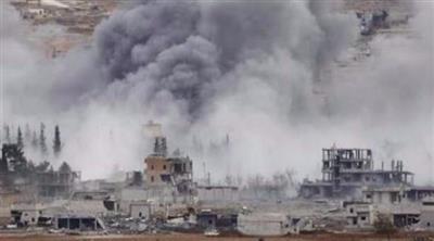 سوريا.. قتلى وجرحى في غارة لطائرات التحالف على البوكمال