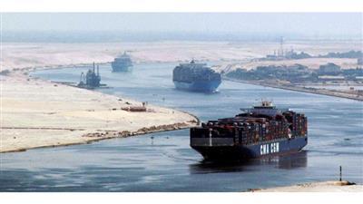 مصر: تصادم 5 سفن بقناة السويس