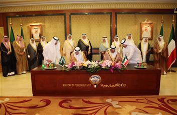 الكويت والسعودية توقعان على «مجلس التنسيق»