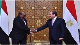 قمة بين الرئيسين المصري والسوداني في الخرطوم