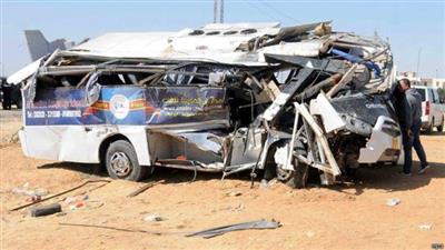 مصر: مقتل 12 وإصابة 28 آخرين في حادث بمحافظة المنيا