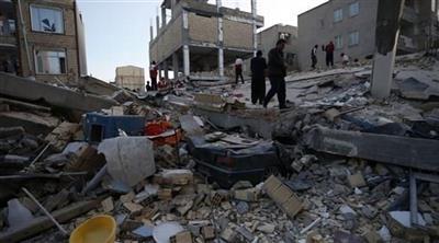 إصابة 91 شخصًا إثر الزلزال الرابع الذي ضرب إيران خلال 24 ساعة