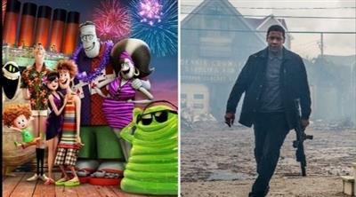 فيلم «هوتيل ترانسيلفينيا» يتراجع للمرتبة الثالثة.. و«إكوالايزر 2» يتصدر