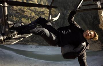 حادث خطير يتعرض له توم كروز خلال تصوير أحدث أعماله السينمائية