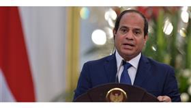 السيسي: ندعم مختلف جهود استئناف عملية السلام