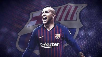 مدرب برشلونة عن فيدال: مقاتل ويجلب الكثير من الطاقة لوسط الملعب