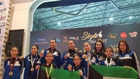 «فتيات الفيغر» يحقق سبع ميداليات