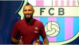 فيدال بعد انضمامه لبرشلونة: أن أكون هنا فهو حلم