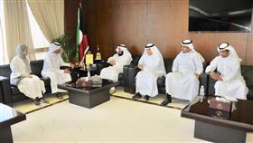 عمادي استقبل الفائزة الكويتية بجائزة التميز في هاكثون الحج غالية الحيص: الكفاءات الشبابية مفخرة للكويت