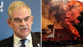 حرائق الغابات في اليونان تُطيح برئيس الحماية المدنية
