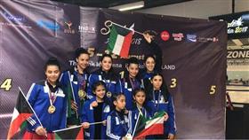 لاعبات منتخب الكويت للـ«فيغر» يواصلن التألق في البطولة الآسيوية في تايلاند