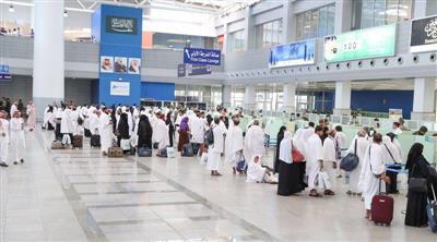 «الجوازات السعودية»: مليون حاج وصلوا المملكة