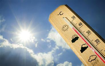 «الأرصاد»: طقس العطلة شديد الحرارة.. لتأثر البلاد بمنخفض الهند الموسمي