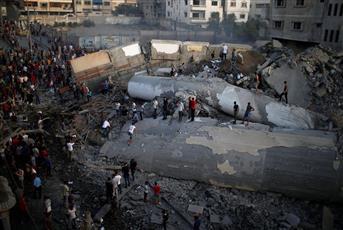 «الصحة الفلسطينية»: 20 مصابًا نتيجة قصف الاحتلال على غزة