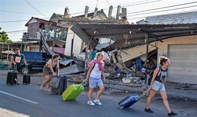 زلزال إندونيسيا - أرشيف