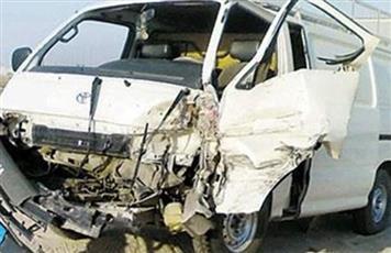 مصر.. إصابة 8 أشخاص في حادث تصادم بطريق السويس الصحراوي