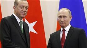 أردوغان وبوتين يبحثان العلاقات الثنائية بين البلدين