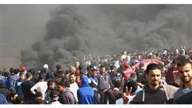 استشهاد مسعف فلسطيني برصاص الاحتلال