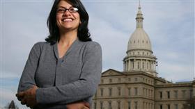 رشيدة طليب ..أول امرأة عربية مسلمة قد تدخل الكونغرس الأمريكي