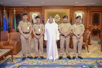 وزير الداخلية مستقبلاً الوكلاء المساعدين الجدد: رجال الأمن هم العيون الساهرة والدرع الواقية في مواجهة التحديات