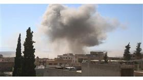 مقتل عشرات في انفجار مستودع للأسلحة في إدلب السورية