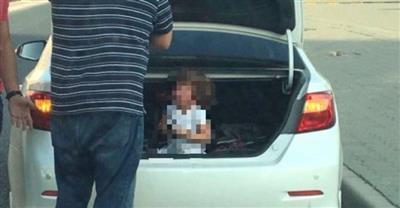 القبض على محتجز ابنته في الصندوق الخلفي للمركبة
