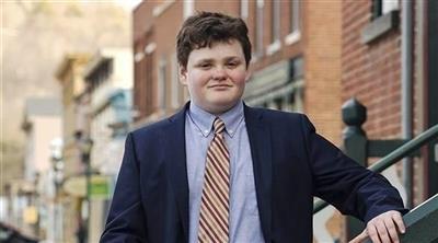 الحزب الديمقراطي الأمريكي يرشح شاباً عمره 14 عاماً حاكماً لولاية فيرمونت