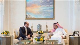 الملك سلمان يستقبل الرئيس المصري عبدالفتاح السيسي في «نيوم»