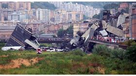 بعد انهيار الجسر.. إيطاليا تعلن «الطوارئ» في «جنوى» لـ 12 شهرا