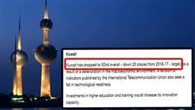 تدهور جديد للكويت في مؤشر التنافسية