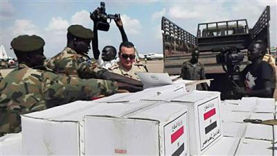 مصر ترسل مساعدات طبية وغذائية ومستلزمات إغاثة للسودان
