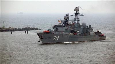 سفينة حربية روسية جديدة إلى الشواطئ السورية
