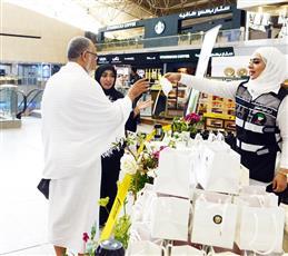 مطار الكويت يتزين بأفواج الحجاج